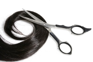 Hair-and-scissors